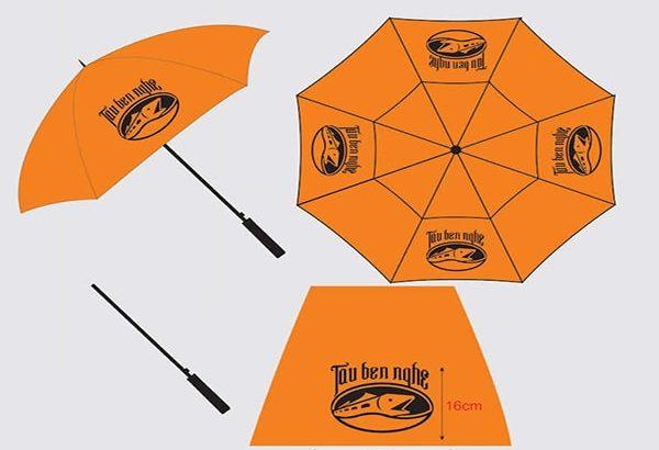 Cung cấp ô dù cầm tay cán thẳng tại TPHCM